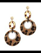 Wildcat Leopard Earrings