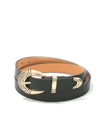 Vintage Jam Belt - Olive