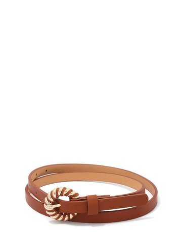 Check It Out Belt - Camel