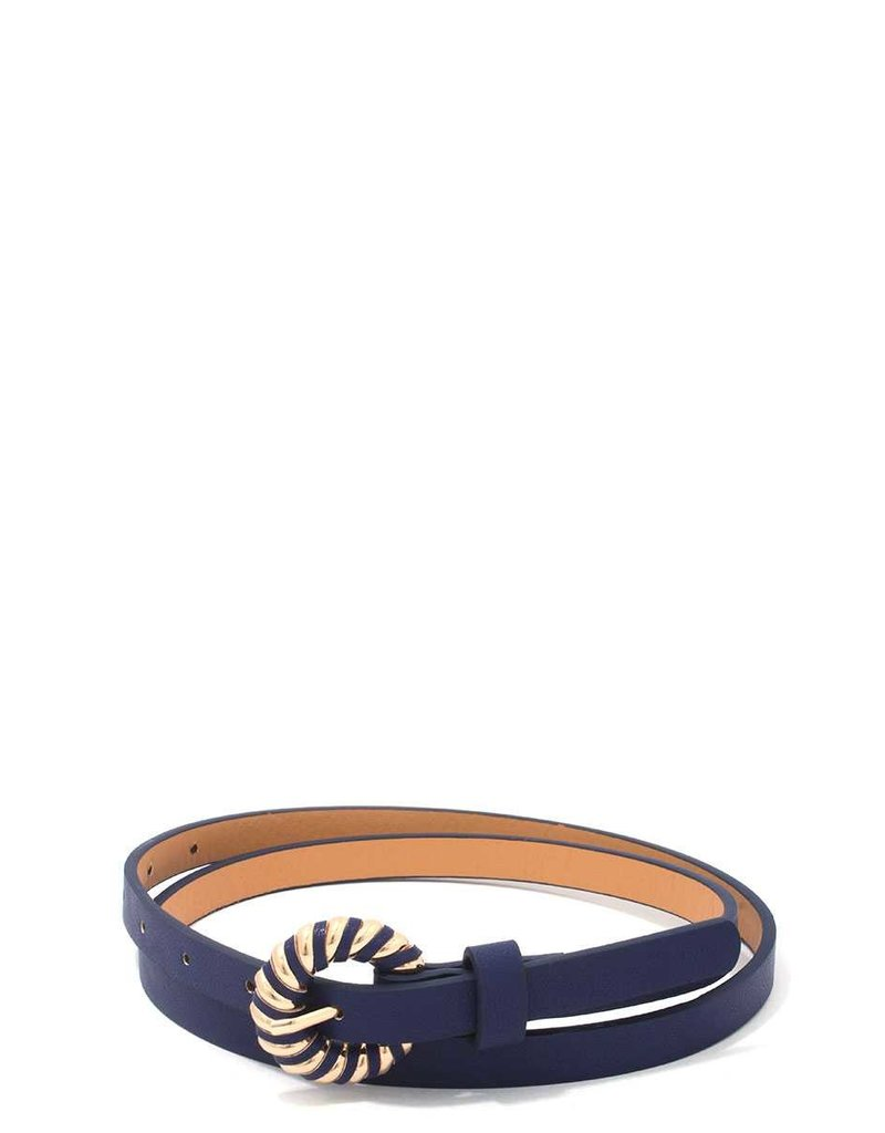 Check It Out Belt - Navy