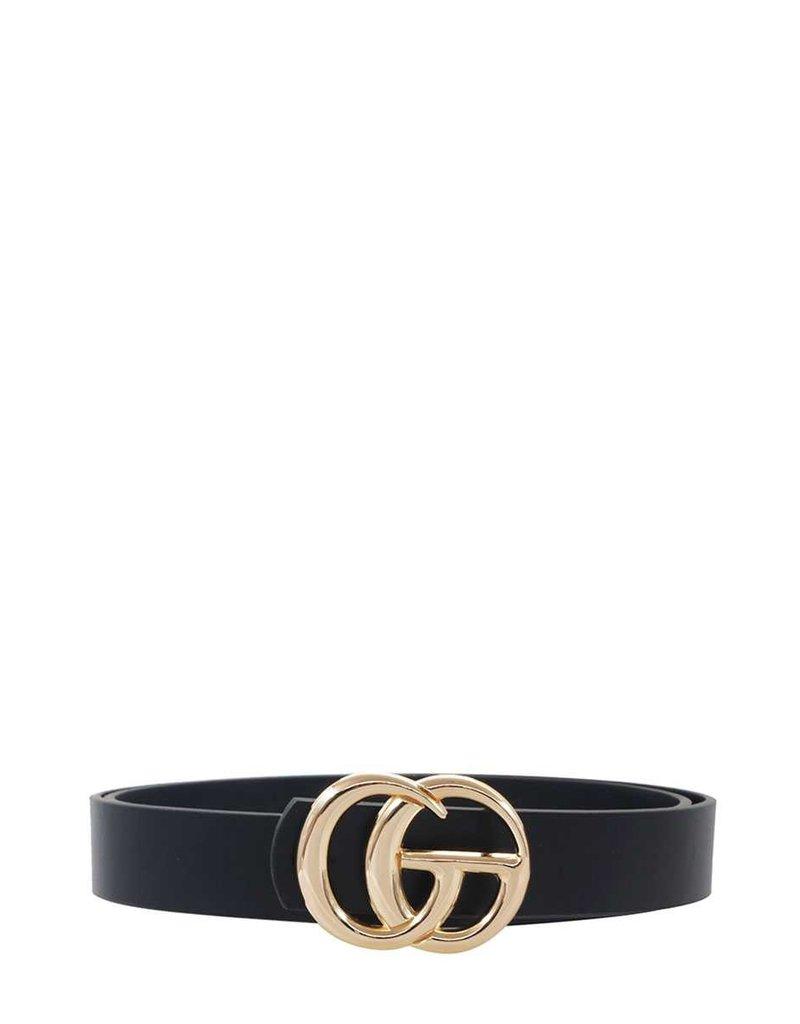 Look Twice Belt - Black