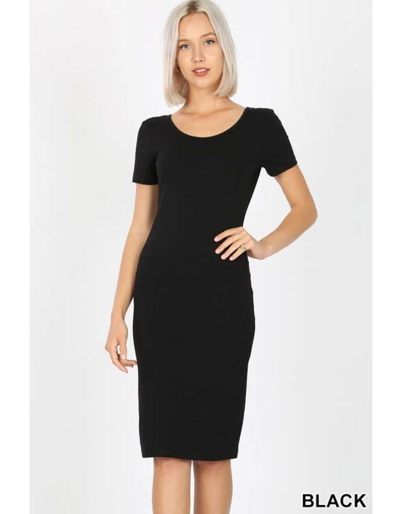 Take It Easy Dress Black