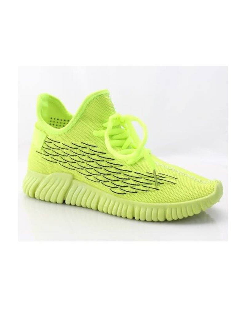 Jump Start Sneakers Neon Yellow