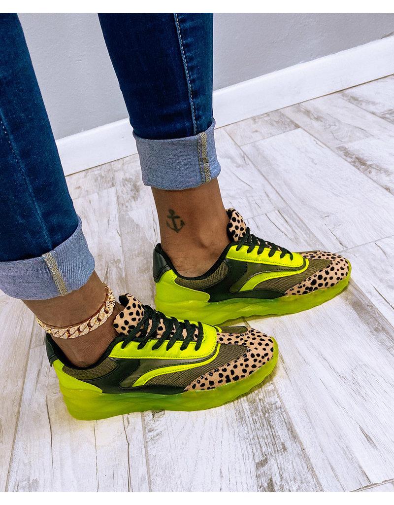 Leopard Ride Sneakers