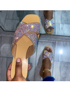 Sparkle Me Rhinestone Sandals