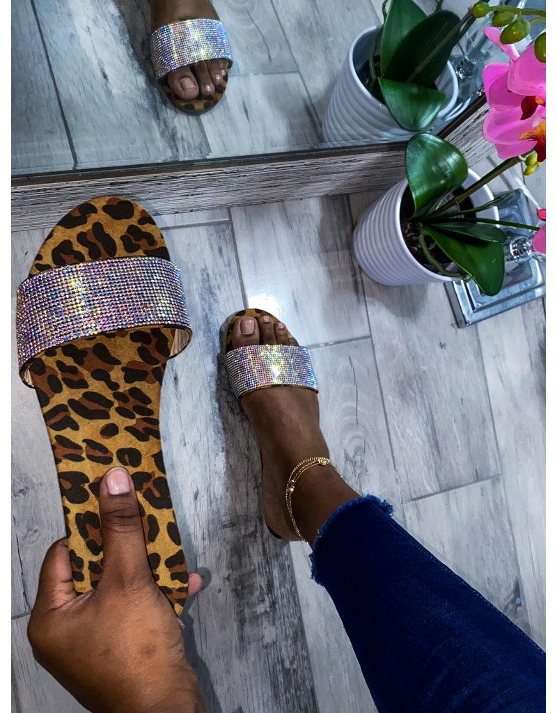 Show Your Spots Leopard Sandals