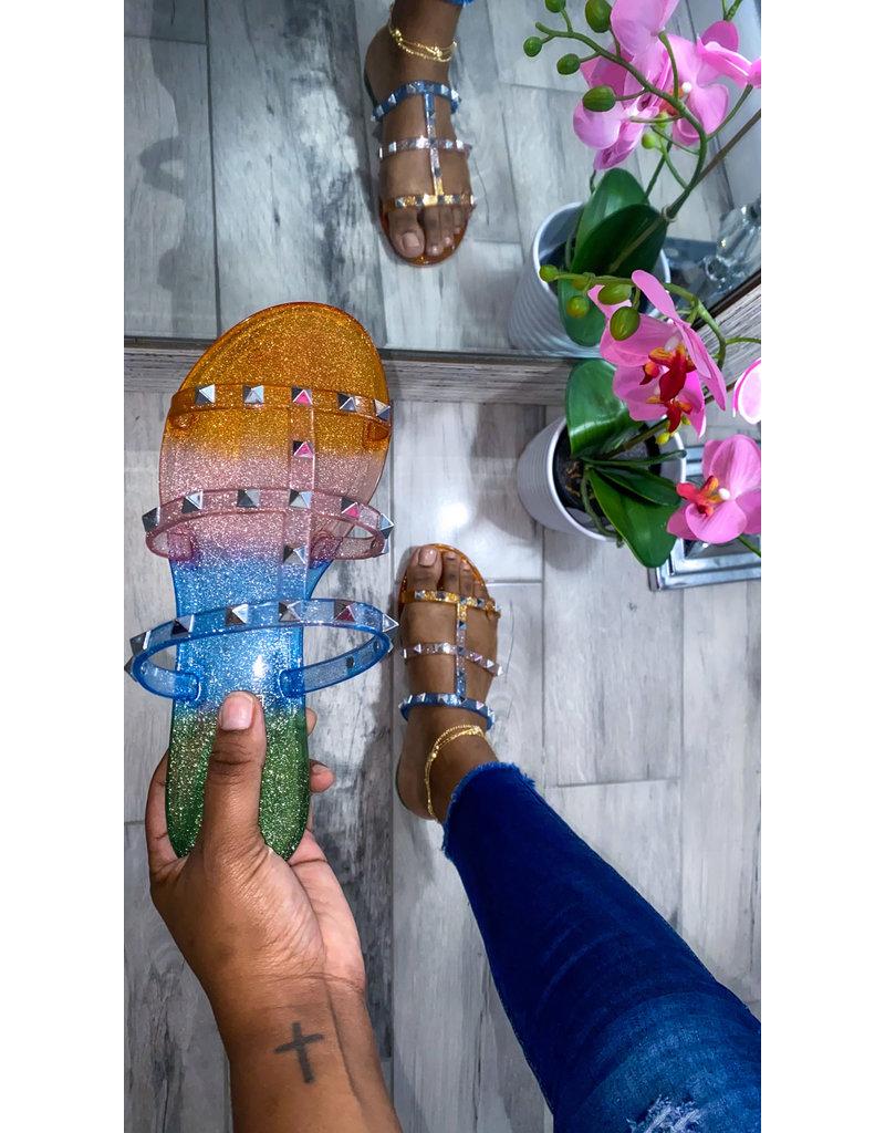 Stud Muffin Sandals