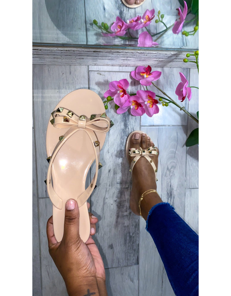 Sweetie Sandals Nude/Gold