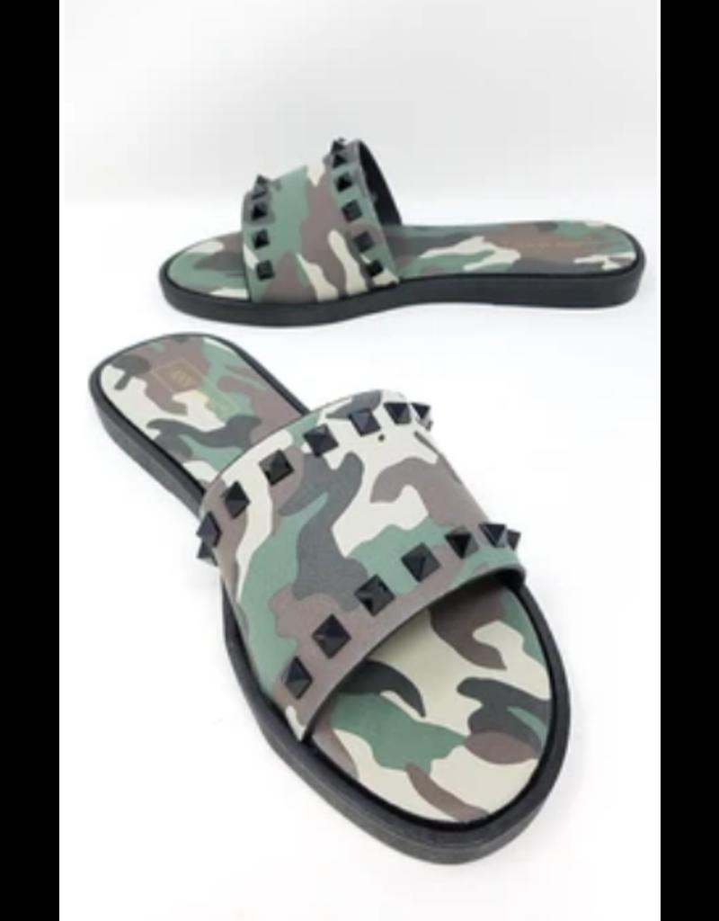 Hide Out Camo Sandals