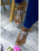 Got The Bling Sandals Clear