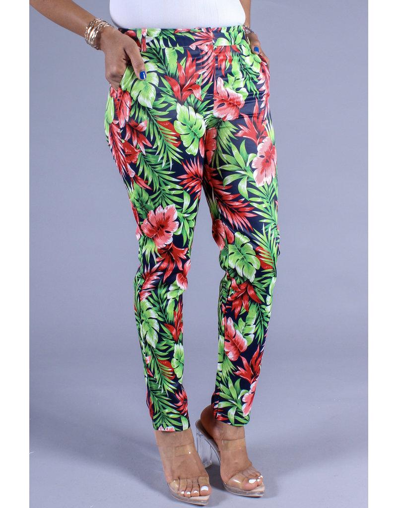 Picnic Time Floral Pants