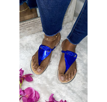 All Aboard Sandals Blue