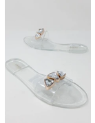 Shape Up Sandals Clear
