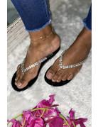 Sweet Talk Sandals Black