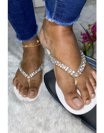 Sweet Talk Sandals White