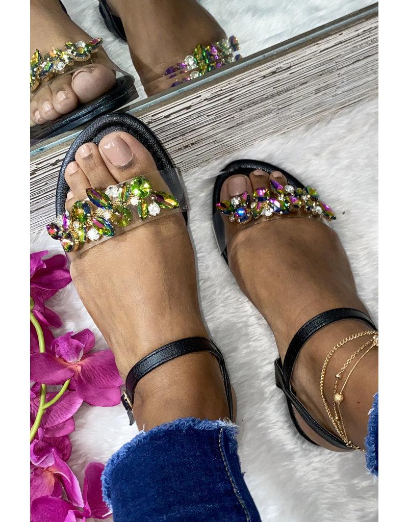 Living Lavish Sandals - Black