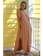 Stay Chill Maxi Dress Camel