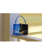 Double Cross Bag - Cobalt/Black