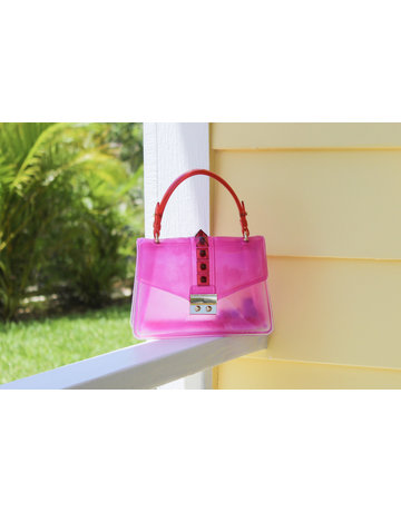 Double Cross Bag - Pink