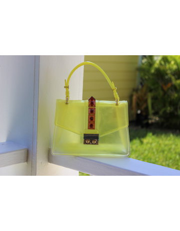 Double Cross Bag - Yellow
