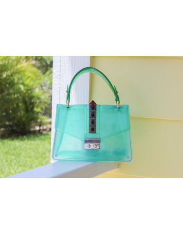 Double Cross Bag - Green