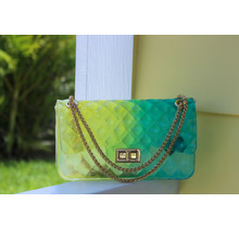 Candy Baby Jelly Bag - Green/Yellow