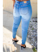 In It To Win It Distressed Jeans