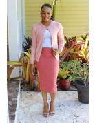Less Hassle Pencil Skirt - Cinnamon