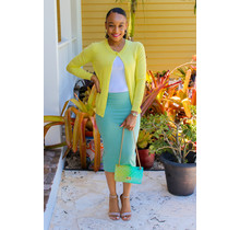 Less Hassle Pencil Skirt - Sage