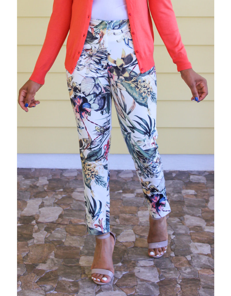 Free To Leave Floral Pants