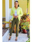 Sleek Wear Belted Pants
