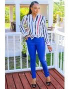 Make It A Date Pants Royal Blue