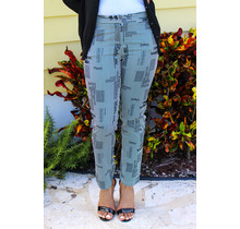 Chasing Paper Striped Ankle Pants