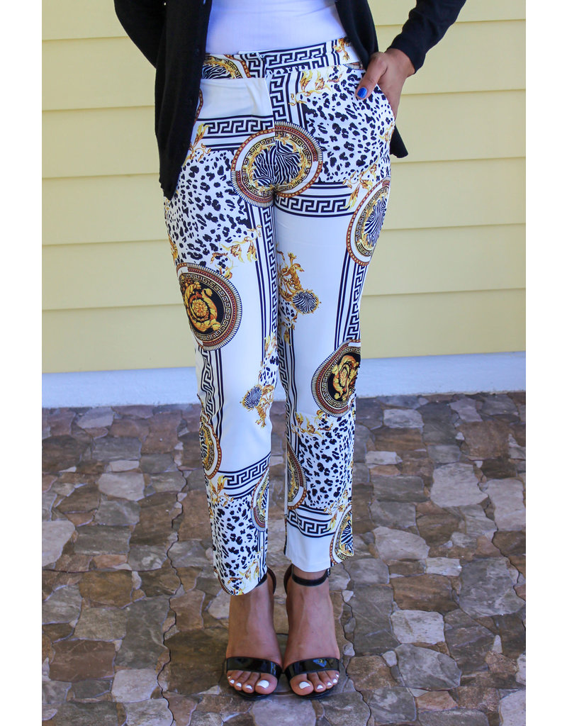 Call Me Royalty Ankle Pants