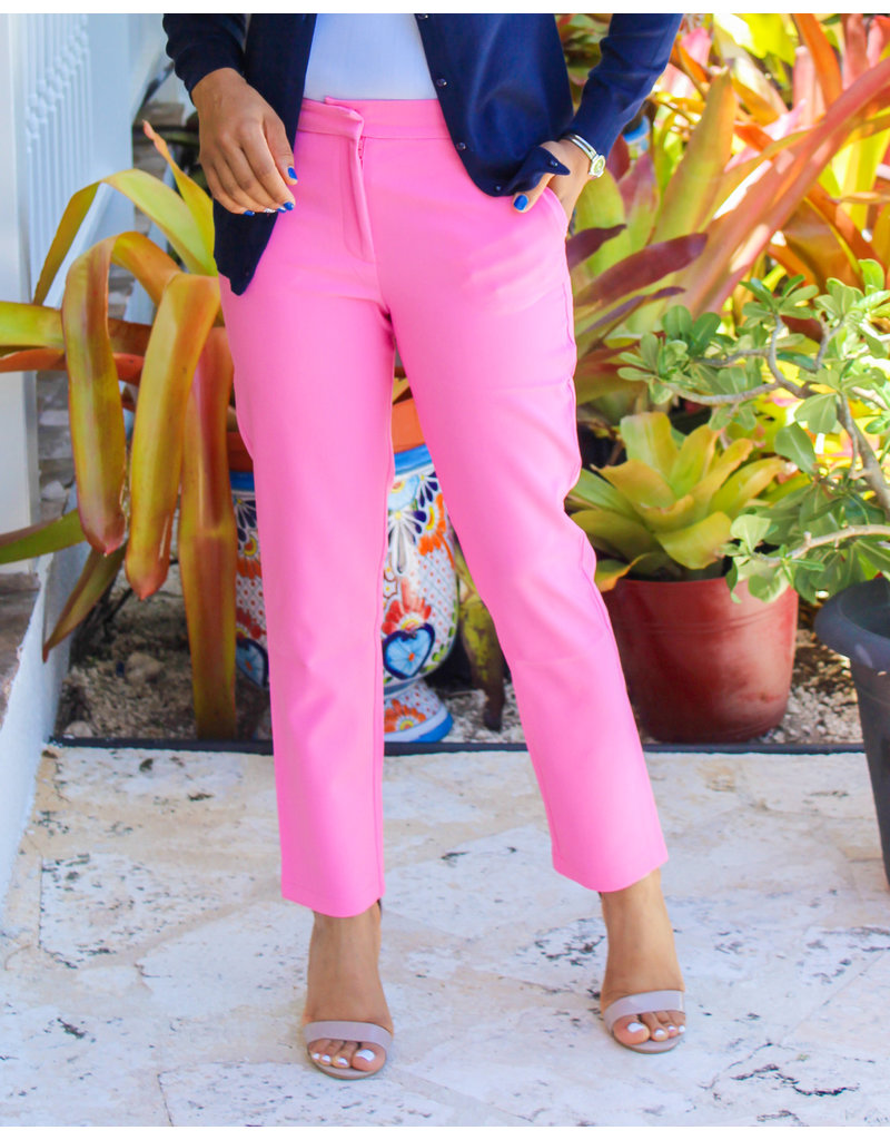 Well Paid Ankle Pants Pink
