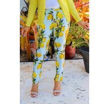 Fresh Squeeze Lemon Ankle Pants