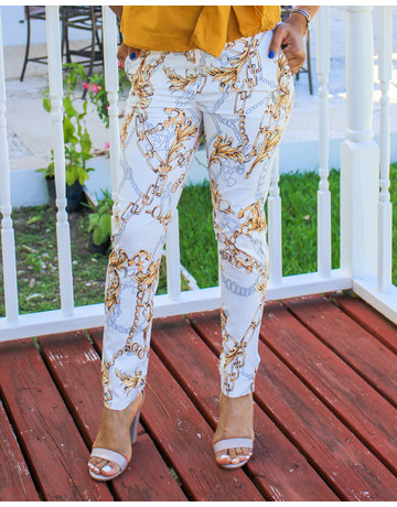 Chain Of Command Ankle Pants