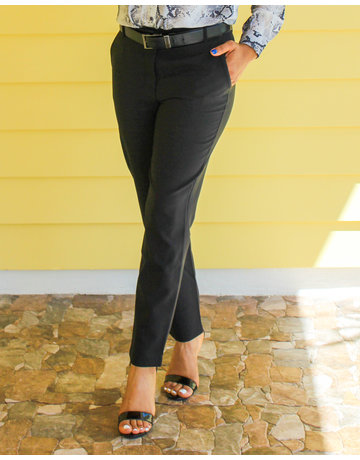 Well Paid Ankle Pants Black