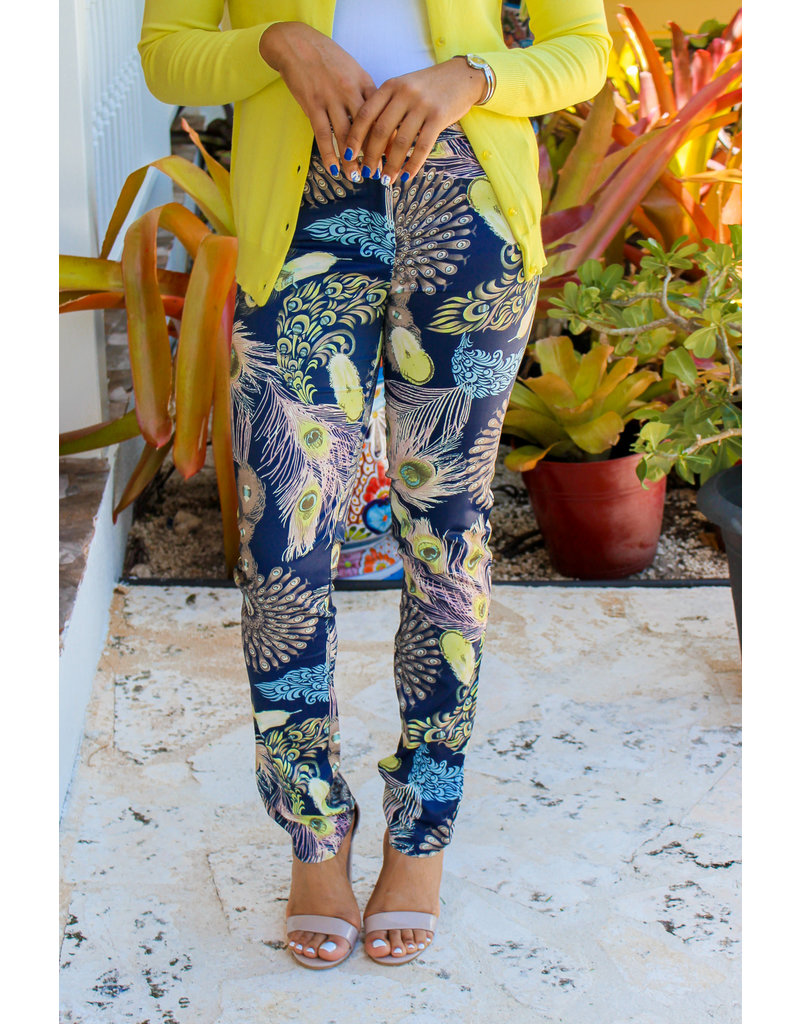 Adastra Feathers Ankle Pants