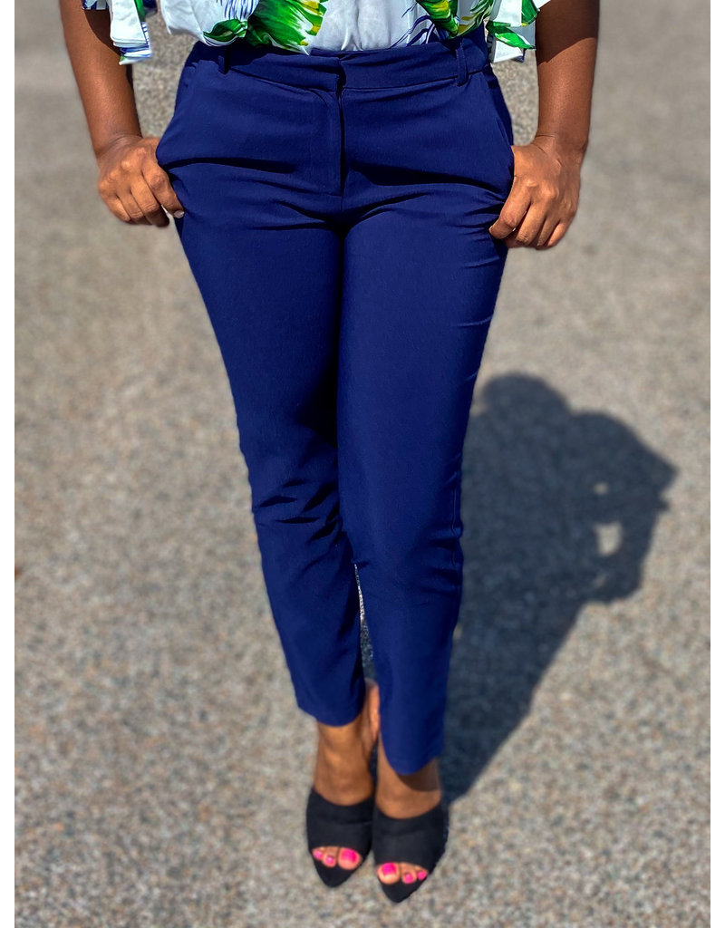 Well Paid Ankle Pants Navy