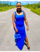 Not So Basic Maxi Dress Royal Blue