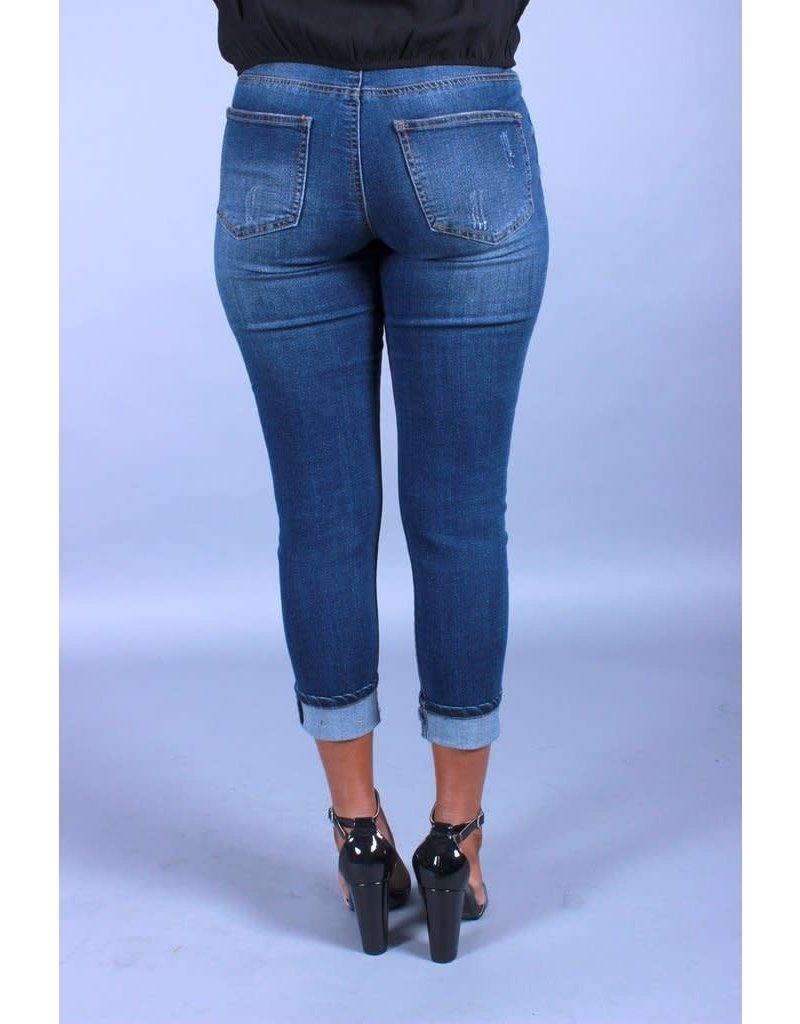 No Games Boyfriend Jeans