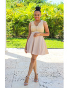 All Is Well Flare Dress