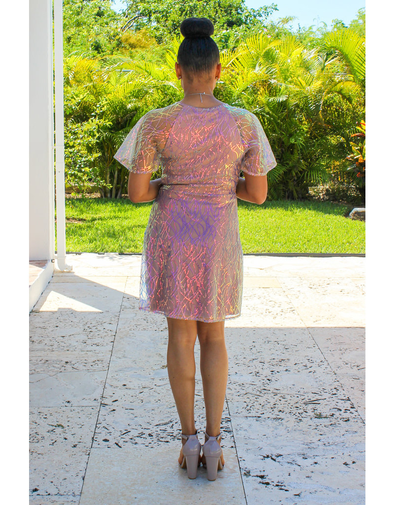 Dreams Come True Sequin Dress