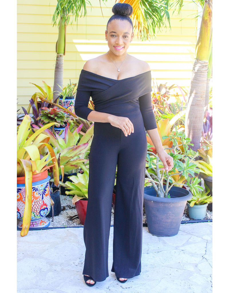 Looking Back Crossover Jumpsuit