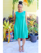 Nice and Easy Dress Kelly Green