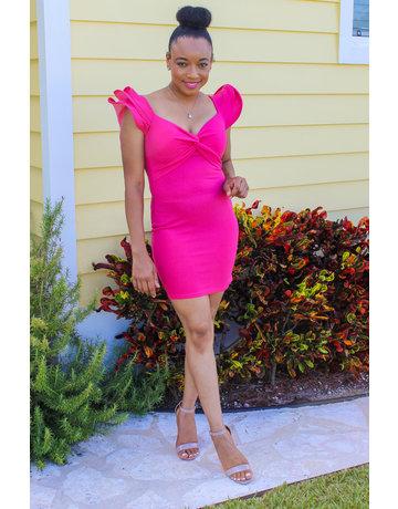 Sinful Beauty Ruffle Dress