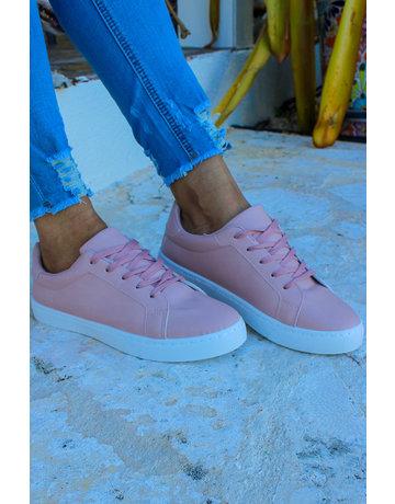 Run Away Sneakers - BLUSH