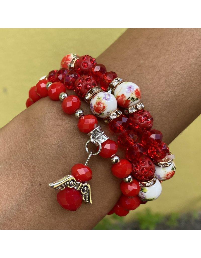 Cherry Pop Bracelet Set