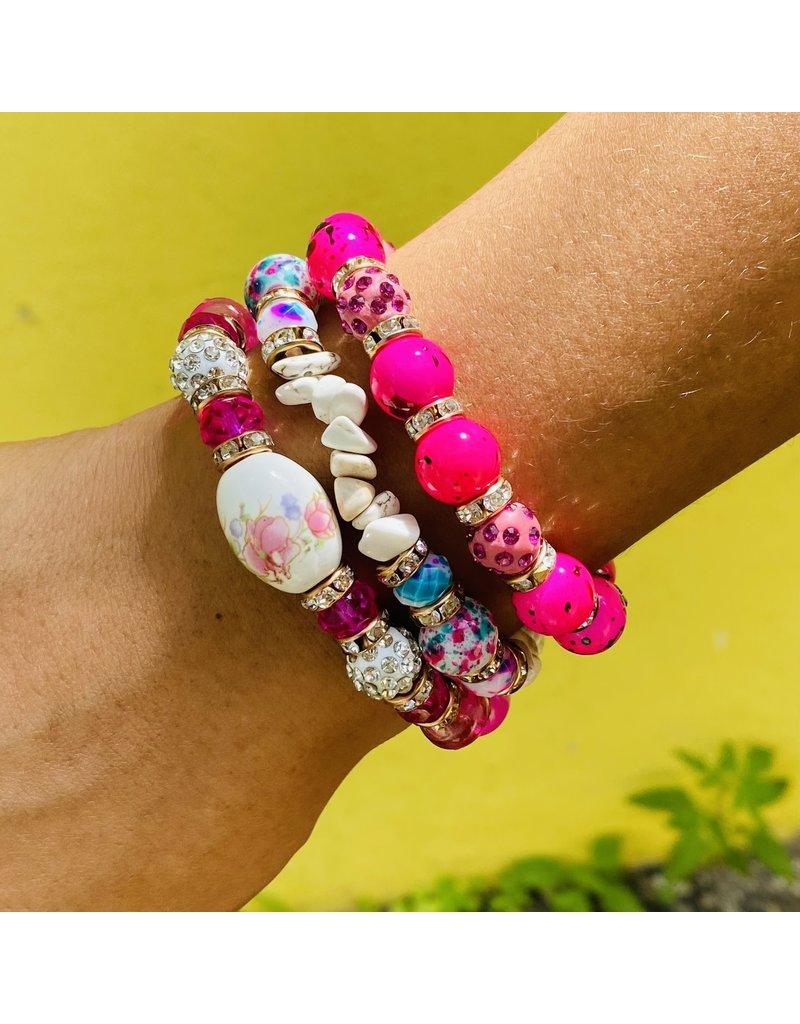 Think Pink Bracelet Set